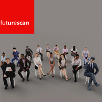 scans people archviz 3d max