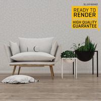 c4d contemporary armchair