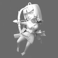 3d model printable archer