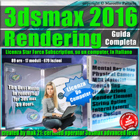 Corso 3ds max 2016 Rendering Locked Subscription, un Computer