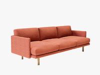 3d emo sofa versus model
