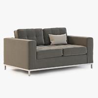 3d model jane love seat