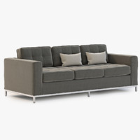 sofa modern jane 3d model