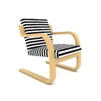 Modern Long Chair Aalto