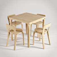 max artek chair 65 table