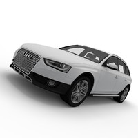 3d audi a4 allroad model