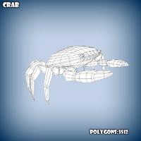 3d base mesh crab model