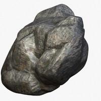 obj zbrush rocks
