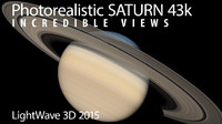 lightwave saturn 43k 3d model