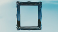 3d antique frame model