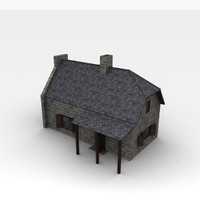 house old 3d 3ds