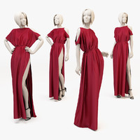 dress mannequin woman 3d model