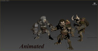 3d bugbear animations