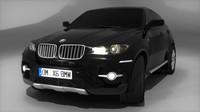 3d bmw x6 sport model