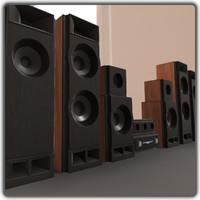 speaker 3d x