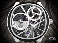 watch mechanism 20 3d max
