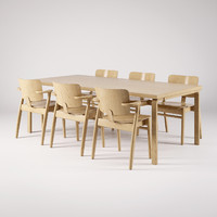 3d model artek domus chair