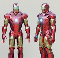 3d ironman mark model