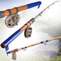 fishing rod 3d max