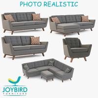 sofa chair joybird 3d max
