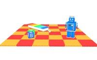 toys robot 3d c4d