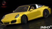 porsche 911 targa 4s 3d model