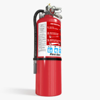 extinguisher safety 3d max