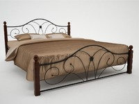 wrought iron bed 1