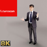 scan people cutout 3d max