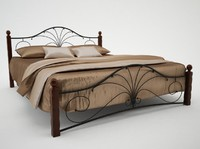 wrought iron bed 2