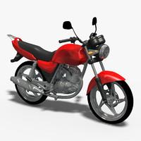 3d bike moto model