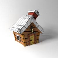 3d snow house