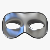 classic mask 3d obj