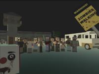 3d fbx zombie horrors
