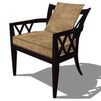 french classic armchair furniture 3ds