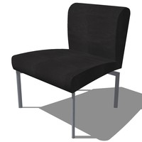 dinning chair french design 3d model