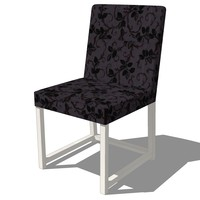 dinning chair design 3d model