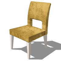 3ds dinning chair design