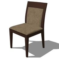 3d dinning chair french design