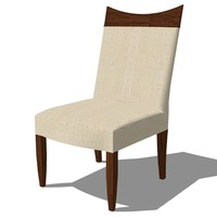 3ds dinning chair french design
