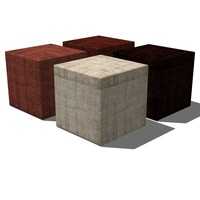 Footstool   pouf  french design