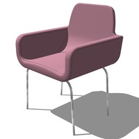 french classic armchair designed 3ds