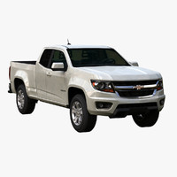 3d model chevy colorado