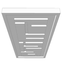 3ds false ceiling feature element