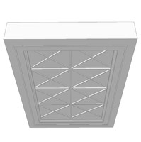3d model false ceiling feature element