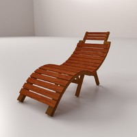 patio chair 3d model