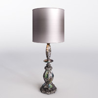 totem table lamp cravt 3d max