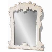 light wall mounted mirror 3d model