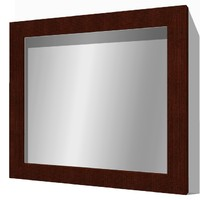 3ds light wall mounted mirror