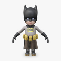 3d little batman